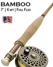 Penn's Creek Full-flex Bamboo Fly Rod