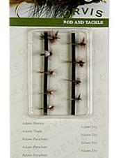 These nine flies will cover multiple trout fishing situations.
