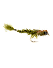 Superbly tied and slightly weighted, this Damsel fly is a versatile pattern.