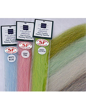 Flash Blend is strong and among the most durable of the newer saltwater fly tying materials.