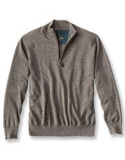 You'll love the extra warmth and classic look of our wool sweaters for men.
