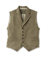 This versatile, seasons-spanning Casual Wool Vest dresses up or down to suit the occasion.