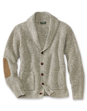 Our wool-blend shawl collar cardigan is a classic men's sweater that checks all the boxes.