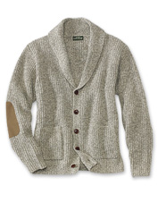 You'll love the classic design and cozy comfort of our shawl cardigan sweater.