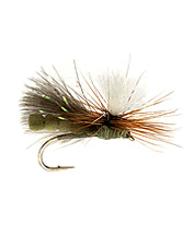 This NBK foam-body parachute caddis dry fly is irresistible to trout everywhere.
