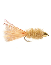 A conehead streamer with a little fish-attracting shimmer.