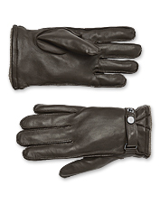 You'll appreciate the extra comfort you get in our men's leather and cashmere gloves.